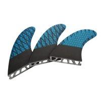 Futurf Fats Future G7 Fiberglass Fin Surfcomb Surfboard Fibra de carbono em Acessórios de surf trança linha