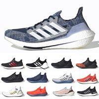 ultra boost 2021 erkek koşu ayakkabısı 7.0 ultraboost 20 Siyah Güneş Sarısı çekirdek üçlü beyaz Gri Sashiko 4.0 erkek kadın eğitmenler spor ayakkabı 36-45 Tech Indigo