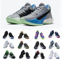 Freak 2 Koleksiyon Basketbol Ayakkabı Parçacık Gri Siyah Mavi Yelken Ötesinde Naija Beyaz Çimento Erkek Bamo Nrg Dusty Ametist Giannis Antetokounmpo Sneakers