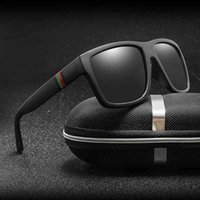 النظارات الشمسية بولارويد للجنسين مربع خمر نظارات الشمس العلامة التجارية الشهيرة الشمسية الاستقطاب oculos feminino للنساء الرجال
