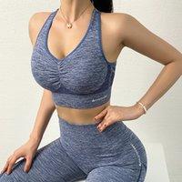 2 peice set mulheres sem costura yoga conjuntos ginásio vestuário esporte sutiã e alta cintura leggings desgaste atlético para mulheres