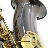 Julius Keilwerth ST130 BB Tune Brass Tenor Saxophone B Flat Musical Instrument Black Nickel Gold JK-Keilwerth SAX مع الملحقات