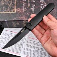 """Boker Plus / Protech Auto Táctico Cuchillo plegable 3.5 """"154cm Hojas de aluminio de la cuchilla negra de una acción individual Caza al aire libre Camping Cuchillos de supervivencia EDC Herramientas"""