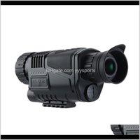 Cameras Night Vision Teleccope HD Цифровой инфракрасный монокулярный прием POS и видео Воспроизведение Функция для охоты N1OMN G6KU4