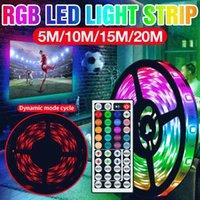 Strips DC 12V LED Light Strip RGB Lighting SMD Lamp Ribbon Diode Tape 5M 10M 15M 20M Waterproof TV BackLight Bedroom Wall