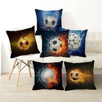 Football World Cup Stampa Throw Pillow Case serie cuscino cuscino cuscini decorativi per auto auto 45x45 cm D0037 cuscino / decorativo