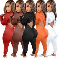 Women Jumpsuits Autumn And Winter Of Sexy Onesies Deep V Neck Drawstring Pleated Hollow Out Slimming Bodysuit