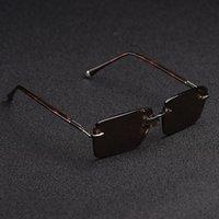 "GG""LV""Louis…Vitton""Ray""Ban""Dita"" Sunglasses Zerosun Designer Brand Rimless Sun Scratch Glass Glasses Awtr"