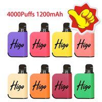 Higo Magic Electronic Cigarette New Design Disposable Vape 1200mAh Battery 10ml Pods Hot In USA