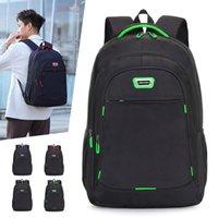 Büyük kapasiteli Rahat erkek sırt çantası çok bölmeli ofis iş gezisi bilgisayar çantası rahat omuz askısı erkekler