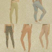 lu womens yoga leggings suit pants High Waist Sports Raising Hips Gym Wear Legging Align Elastic Fitness Tights Workout set lu-32 lulu lululemon lemon