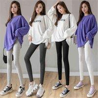 Women Skinny Leggings Fashion Trend Plus Size Sport Gym High Waist Running Pants Female New Elasticity Fitness Yoga Slim Sportspant