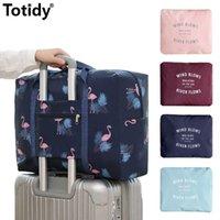 2021 чемоданы нейлоновые складные сумки для путешествий унисекс большая емкость сумка багажники водонепроницаемые сумки мужская одежда организатор одежды