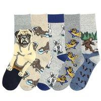 Socken Strumpfeinheit Japanische Harajuku Kawaii Tiere lustige Frauen mit Bugs Löwen und Hunde Unisex Calcetines Mujer Meias 121603