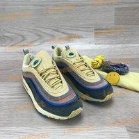 최고 품질 97S 숀 Wotherspoon 실행 신발 남성 여성 스포츠 트레이너 SW 쿠션 Og 운동 스 니 커 즈 망 야외 chaussures 상자