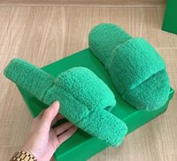 Slippers women's Wool RUBBER LIDO Bottega Autumn Heavy bottom towel towing winter sandals shoes STRETCH travel Tory slip indoor