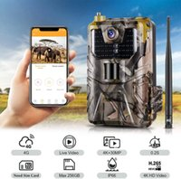 4K Live Video APP Control Trail Camera Cloud Service 4G Cellular Mobile 30MP IP66Wireless Wildlife Hunting Cameras Night Vision