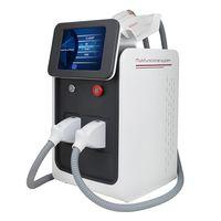 Güzellik Salonu 3 in 1 Taşınabilir Çok İşlevli Lazer Saç Dövme Temizleme Makinesi IPL RF ND YAG Cilt Güzellik Ekipmanları