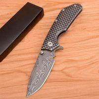 Mick Cleder Custom MSC SMF XL # 9 Tanto Messer 8cr13 Blade Aviation Aluminiumgriff Albtraum Klappmesser Outdoor Jagdwerkzeuge