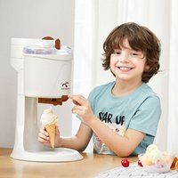 Machine à crème glacée aux cônes de fruits automatiques de ménage