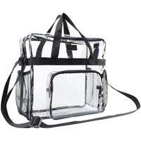 Backpack Portable Transparent Shoulder Crossbody Bag Tote Satchel Handbag For Women Lady LX9F