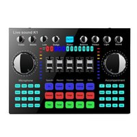 Sound Cards K1 Computer Phone Voice Changer HIFI Live Card Mixer Board Streaming Audio Bluetooth 5.0 Universal