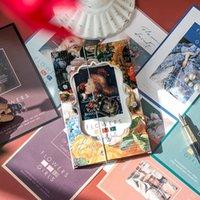 30 pcs senhorita série pássaro cartão branco cartão clássico cartão cartão postal envelope diy decoração lomo outras artes e artesanato