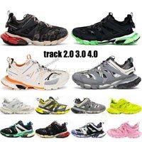 Track2 Lanzamiento 2.0 Plataforma de lujo Lady Casual 3.0 S Shoes 4.0 Pista 2 Corredores de diseño Hombre Hombre Para mujer Sandalia Sandalia Deporte zapatillas
