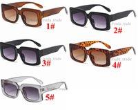 النساء النظارات الشمسية إطار صغير خمر النظارات ماركة مصمم نظارات الشمس الرجال الصيد سائق نظارات 5 ألوان 10 قطع سفينة سريعة