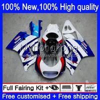Kit carenti per SUZUKI 250CC RGV250 SAPC VJ22 RGVT250 88-98 Bodys 32NO.9 RGVT-250 RGV-250 VJ23 94 95 96 97 98 RGVT RGV 250 1994 1995 1996 1997 1998 Fabbrica Blue Lavoro Blu