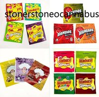 WARHEADS Bag AIRHEADS Xtremes Starburst Gummies Cannaburst sours Rainbow Mylar Bags Edibles Packaging 500mg edible 58