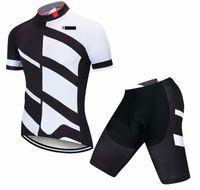 2021 Tour de Fransa Yolu Yarış Bisiklet Bisiklet Jersey Kısa Kollu Şort Takım Elbise Erkekler