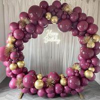 20 / 30 / 50pcs 10inch 컬러 푸쉬 시아 바이올렛 풍선 결혼 생일 파티 장식 헬륨 라텍스 Ballon 베이비 샤워 Globos