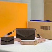 2021NewW bolsas de mano Tendencia de la mano bolso de lujo de las mujeres Fashions retro Postman Hombro Diagonal Moda Multifuncional Cuero Sexy Party Party Bag M80091
