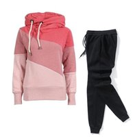 Gym Clothing Casual Tracksuit Women Two Piece Set Suit Female Hoodies And Pants Outfits 2021 Women's Autumn Winter Sweatshirts