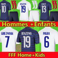 20 21 Maillot Lyon 2020 2021 Olympique Lyonnais Futbol Forma Maillot de ayak OL formalarını TRAORE MEMPHIS erkek çocuklar kitleri ekipman