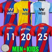 21 22 Kristal Futbol Formaları Sarayı Eve Uzakta Üçüncü Eze Benteke Mateta Olise Zaha 2021 2022 Camiseta De Fútbol Futbol Gömlek Top Tayland