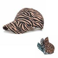 3 Bahar Yeni Stilleri Zebra Şerit At Kuyruğu Şapka Çiftler At Kuyruğu Beyzbol Peak Kap Yeni Sokak Açık Spor Gelgit Güneş Kremi Şapka Lla437