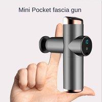 Mini Fascia Gun Pocket Massager Relax Muscle Fitness Equipment Portable Smart Electric Masajeador