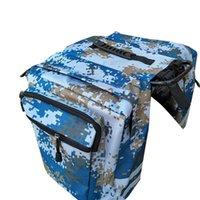 Cycling Bags Mountain Bike Rear Shelf Bag Double Camel Two Carrier Outdoor Sports Riding Equipment