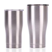 30 oz 20 oz paslanmaz çelik kıvrımlı bardaklar 30 oz 20 oz çift duvar vakum bel şekli su bardağı yalıtım bira kahve kupalar 1738 v2