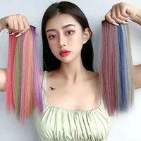 Parchi per capelli Pick Pick Thining Hanging Ear Color Ear-Ear-Extension Femmina Short Hair-Invisible Tracareless Clip di un pezzo