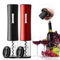 Tire-bouchon de vin tire-bouchon cercle bouchon vin ouvre d'ouverture automatique bouteille de bouteille de vin électrique portable 211023