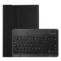 11 بوصة غطاء لوحة المفاتيح بلوتوث رقيقة جدا قابلة للفصل ل TAB S7 T870 / T875 (النسخة الخلفية)