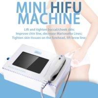 جديد مصغرة hifu المحمولة المحمولة عالية الكثافة التركيز الموجات فوق الصوتية hifu معدات التجميل للتجاعيد إزالة الوجه رفع الجسم التخسيس