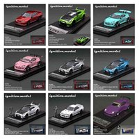 Ignition Model IG 1:64 Toyota Supra A90 JZA80 RZ Nissan GTR R34 Skyline 2000 Fairlady HONDA NSX Mazda RX7 FD3S Diecast Car