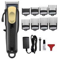 2021 جديد 8148 ماجيك المعادن الشعر المقص الكهربائية الحلاقة الرجال الصلب رئيس ماكينة حلاقة الشعر المتقلب الذهب الأحمر