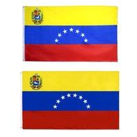 DHL fast Venezuela Flag 3x5ft High Quality Wholesale Venezuelan 7 Seven Stars National Flags for Sale
