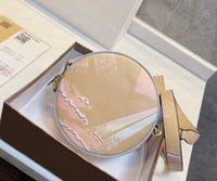 2021 мода круглый торт сумка женский бренд дизайнер роскошь губная помада мобильный телефон ноль кошелек размер 17 * 17