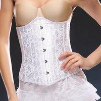 Women's Shapers Court Abdomen Corset, Corset Waist, Printed Button Shaper, And Plastic Waist Belts For Women